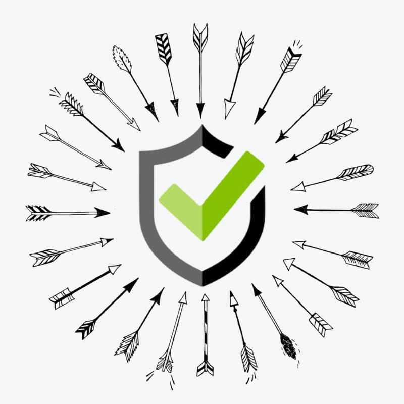 Logo-Pfeilfangnetz